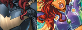 Yelling About Comics Podcast - Batgirl vs. Starfire