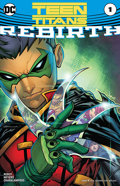 Teen Titans Rebirth 1 review