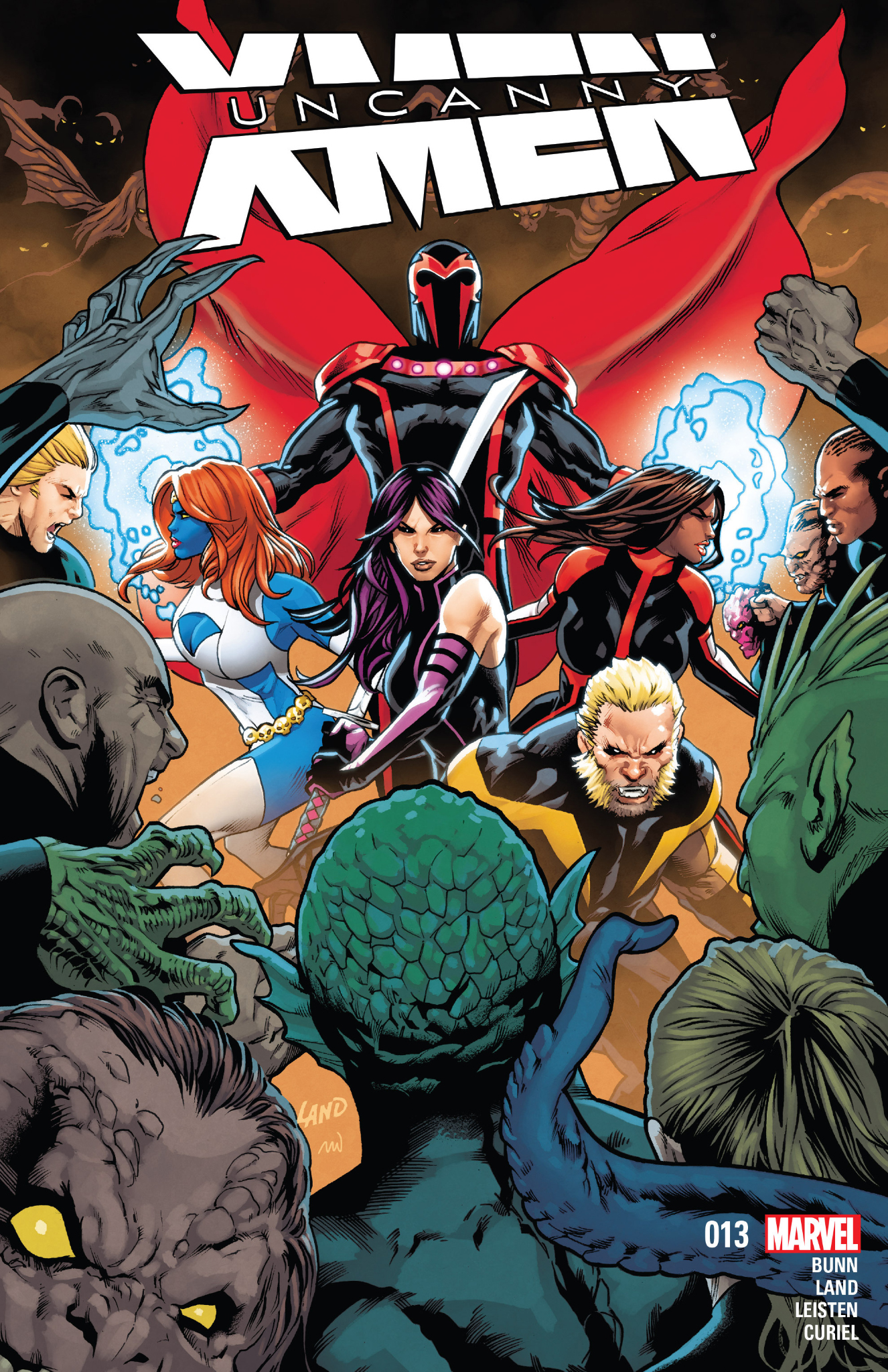 Uncanny X Men 13 Review