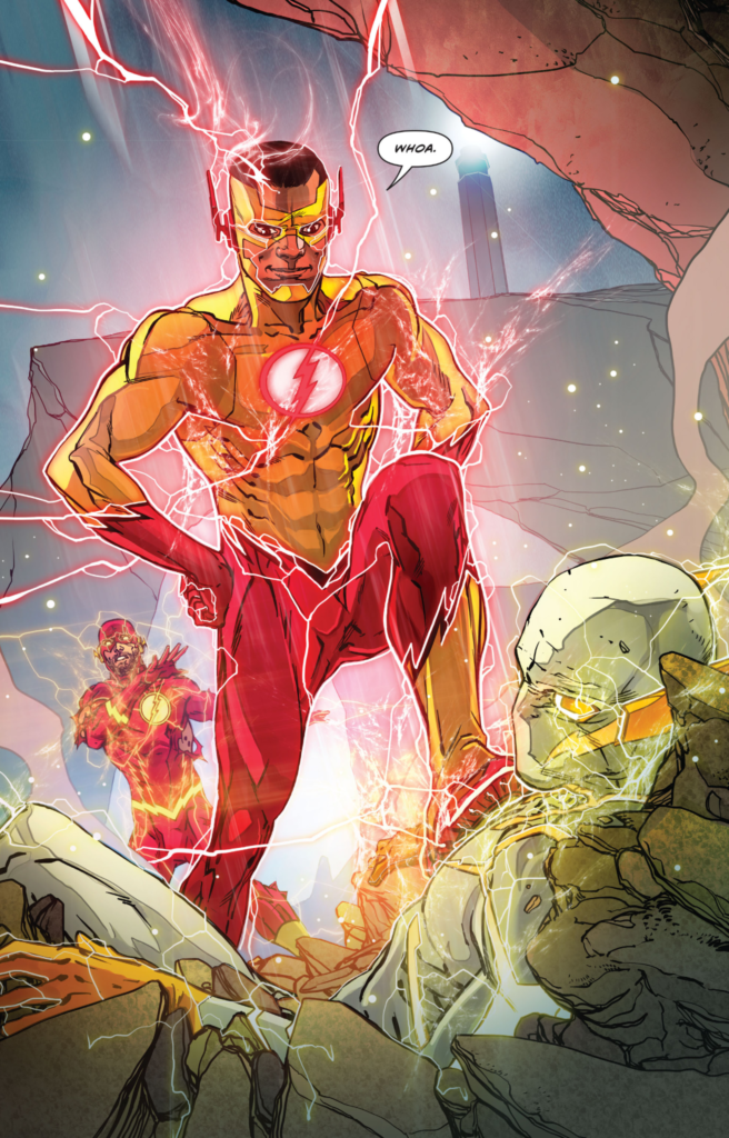 Flash 8 Kid Flash