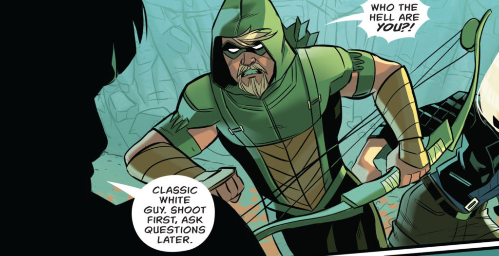 Green Arrow 9 review