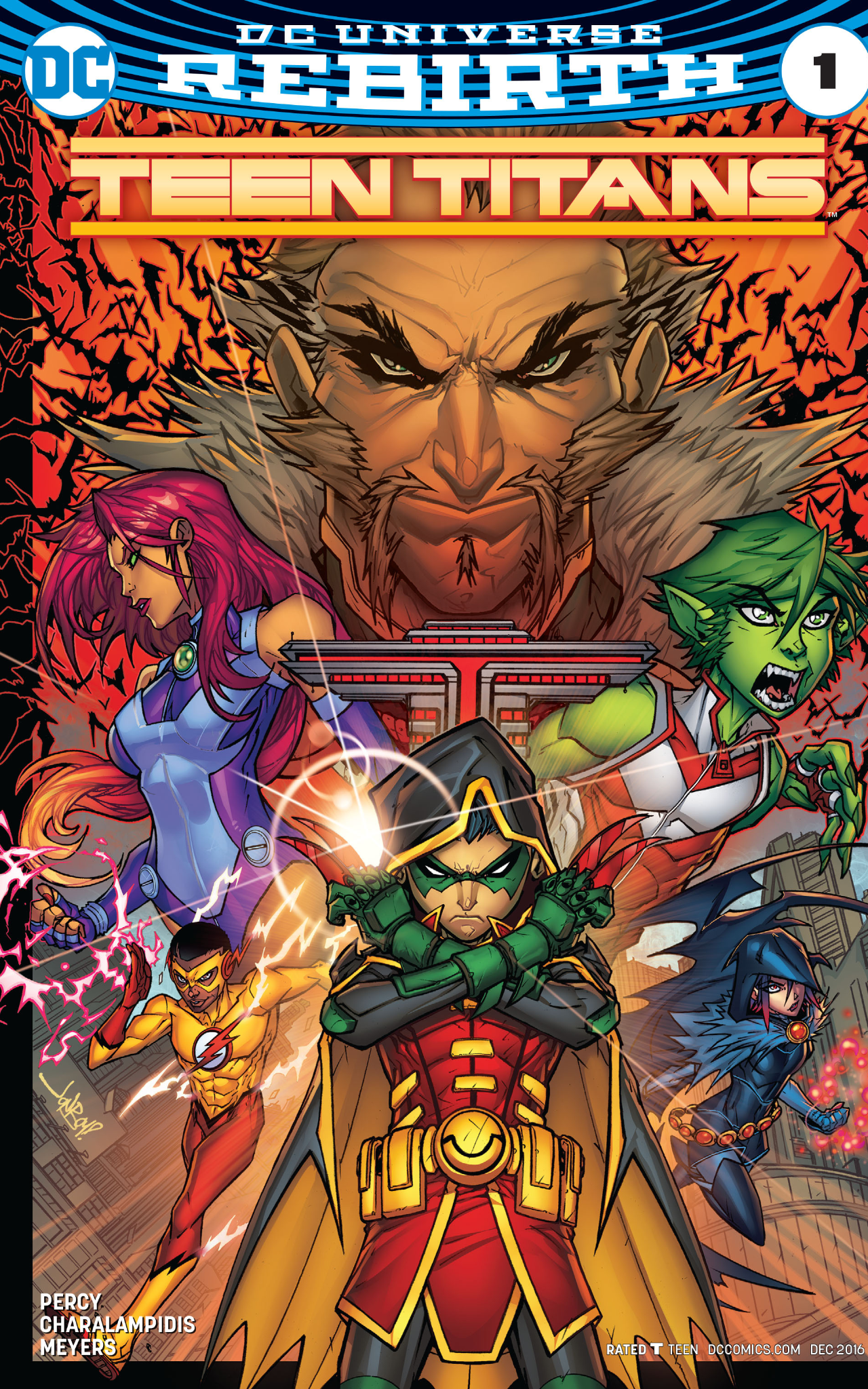 Teen Titans 1 review