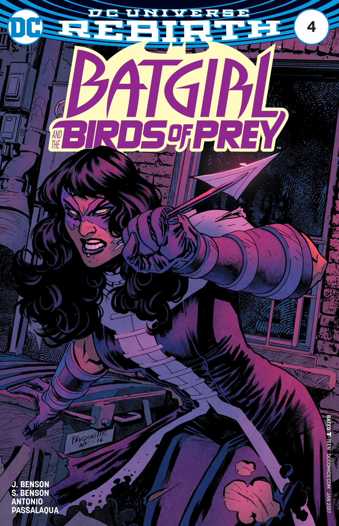 Batgirl and the Birds of Prey 4 review