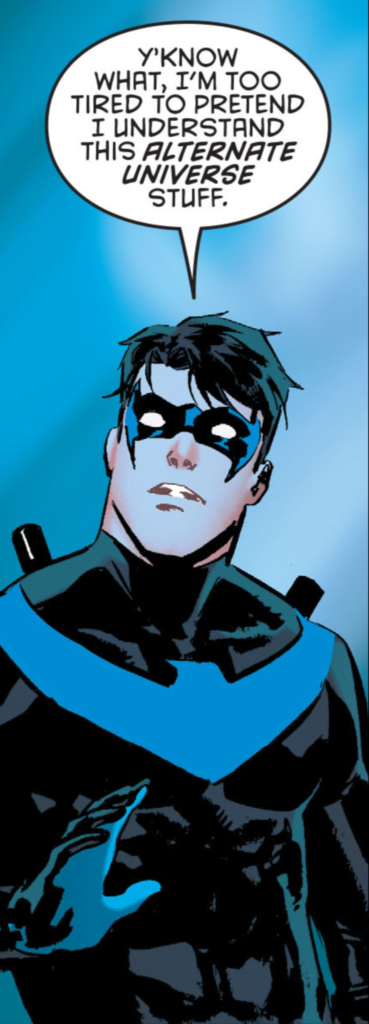 Nightwing 9 review