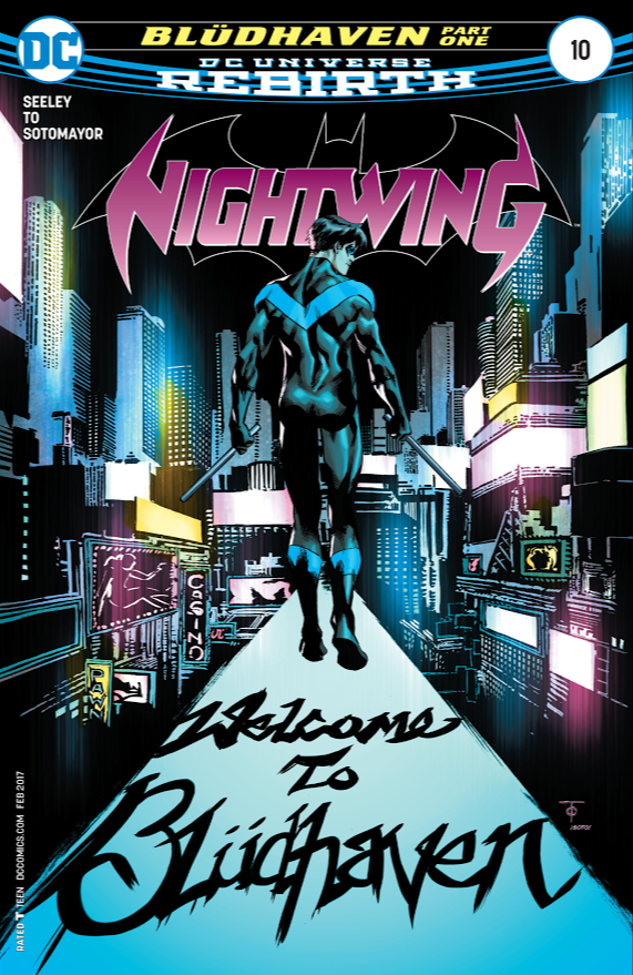 Nightwing 10 review