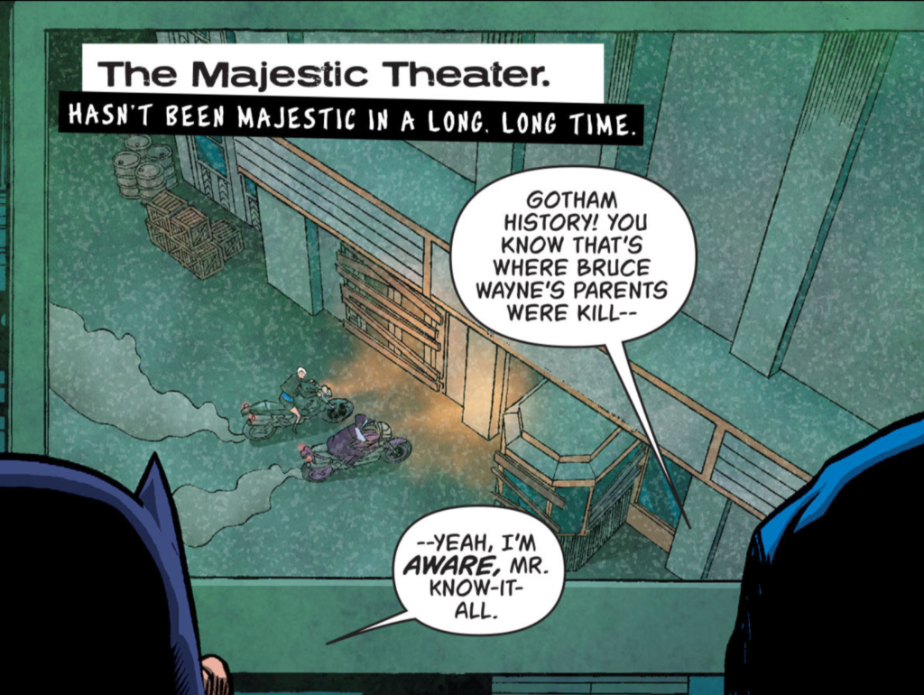 Majestic Theater Batgirl and the Birds of Prey
