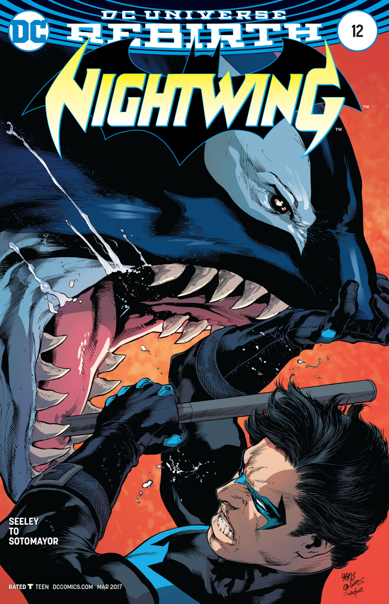 Nightwing 12 review