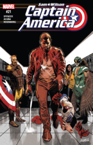 Captain America Sam Wilson 21 review