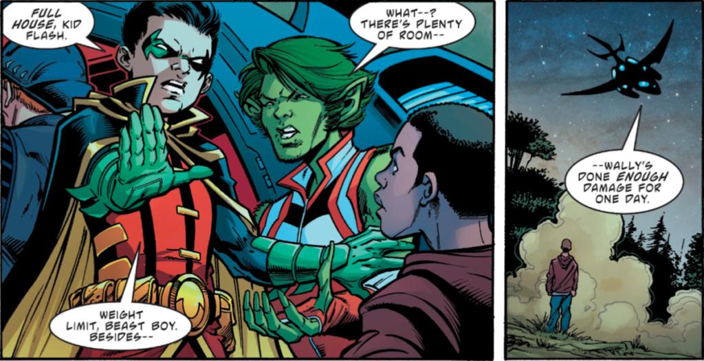 Teen Titans Annual 1 review