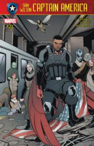 Captain America Sam Wilson 22 review