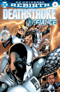 Deathstroke 21 review