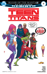 Teen Titans 9 review